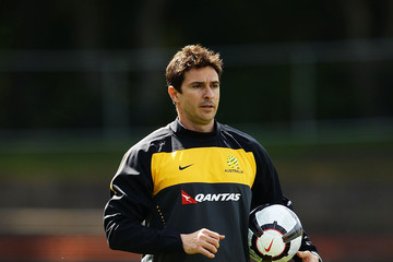 Young Socceroos Coach Paul Okon